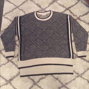 Madewell High-Low Boxy Sweater
